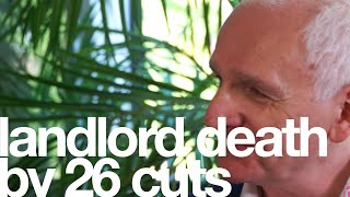 Landlord death by 26 cuts