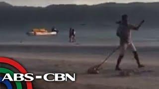 VIRAL: 'Malupit' na panghuhuli ng mga asong gala sa Boracay