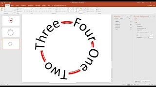 How To Make Text Follow A Circular Path In PowerPoint