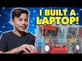DIY LAPTOP!!! Evan Builds His First Computer!  Hack Minecraft! Coding with Kano!