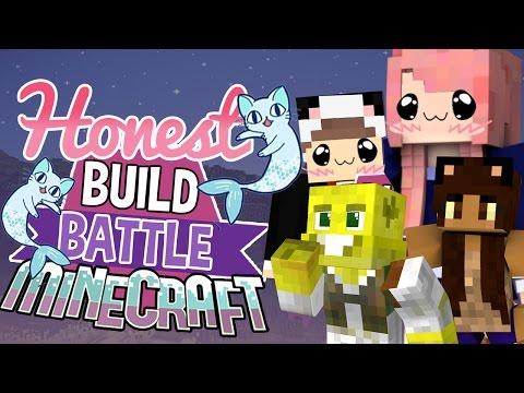 Cat Mermaids | Honest Build Battle Challenge | Minecraft Building Minigame