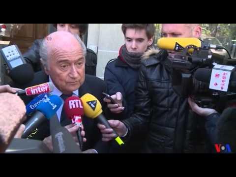 Sepp Blatter auditionné devant le tribunal arbitral du sport (vidéo)