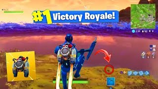OMG CE TOP 1 AVEC LE JETPACK SUR FORTNITE BATTLE ROYALE (Reacteur Dorsal Gameplay) !