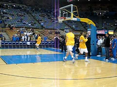 UCLA Bruins Basketball Warm Up Drill Video