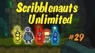 Scribblenauts Unlimited Wii U Commentary 29 Making Pikmin in Object Editor