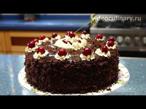 Вишнёвый торт рецепт с фото