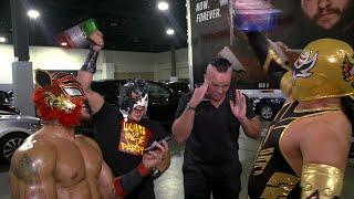 Lucha House Party shut down a hater: 205 Live Exclusive, May 22, 2018