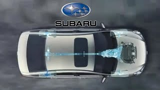 Subaru Symmetrical All-Wheel Drive with Boxer Engine