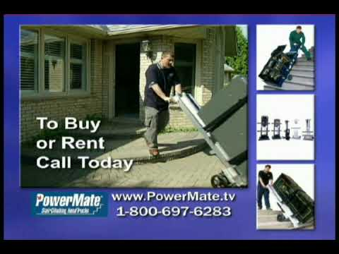 0 Powermate Motorized Electric Stairclimbing Handtruck