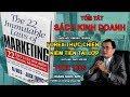 Review SÁCH HAY - 22 QUY LUẬT BẤT BIẾN TRONG MARKETING - Hoàng Ngọc Sơn và cộng sự thumbnail