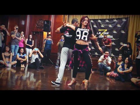 Kadu Pires & Larissa Thayane - Latest Moves Workshop 2016 Los Angeles Zouk Congress