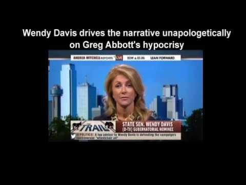 Wendy Davis slams Greg Abbott on MSNBC   She did not hold back