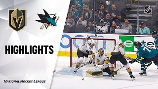 09/21/19 Condensed Game: Golden Knights @ Sharks