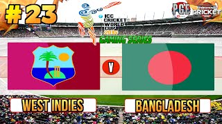 ICC Cricket World Cup 2015 (Gaming Series) - Pool B Match 23 West Indies v Bangladesh