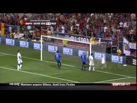 Tim Howard saves vs. MLS All Stars 2009
