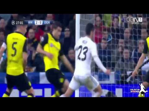 Real Madrid VS Borussia Dortmund 3-0 Goals & Highlights 2/4/2014 UEFA HD