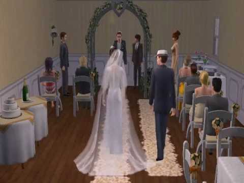 Roslind and Jeff- The Sims 2 Love Story