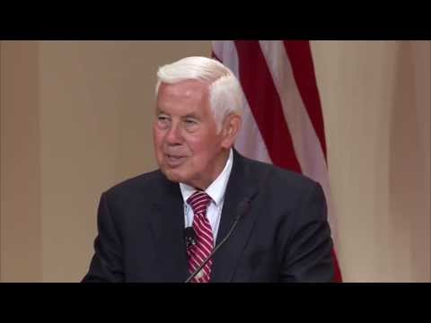 Former Senator Richard Lugar Speaks at Georgetown