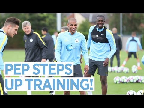 PEP STEPS UP CITY PRE-SEASON TRAINING!