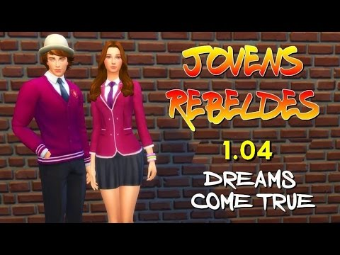 JOVENS REBELDES #4 |  Dreams come true  | THE SIMS 4