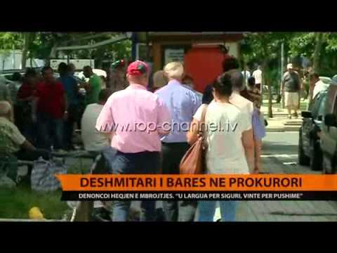 Dëshmitari i Bares në Prokurori - Top Channel Albania - News - Lajme