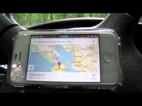 DIY iPhone/GPS car mount. Quick,cheap,easy.