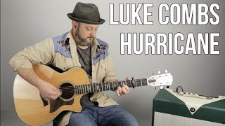 "Download Lagu Luke Combs ""Hurricane"" Guitar Lesson - Country Guitar Lessons (Easy) Gratis STAFABAND"