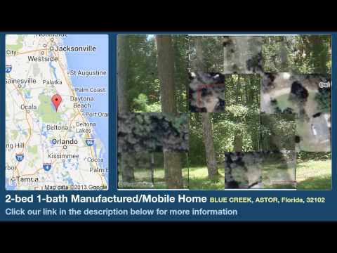 2-bed 1-bath Manufactured/Mobile Home for Sale in Astor, Florida on florida-magic.com