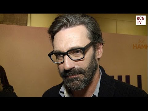 Jon Hamm Interview - Mad Men - Million Dollar Arm Premiere