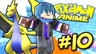Pixelmon Anime ? ALAIN THE DRAGON MASTER! (Minecraft Pixelmon 5.0.3 Roleplay) Episode 10