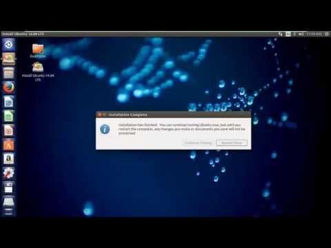 How to Install Ubuntu 14.04 LTS in VMware Workstation