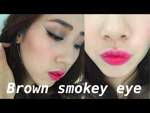 GRWM-Brown Smokey Eyes l 21 Birthday Makeup 咖啡煙燻妝