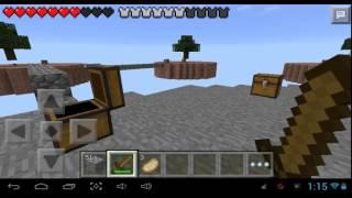 El fail en skywars minecraft PE con gael 777xd