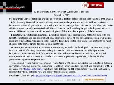 Vertical Data Center Modular Data Center Market