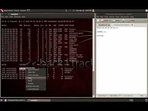 Cracking WPA2 with BackTrack 5 R2/Aircrack-ng