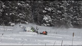 Snowmobile Fails......What you never see in sled videos today.....PowerModz.