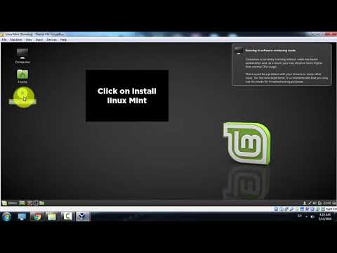 How to Install Linux Mint cinnamon 18.3 on VirtualBox Windows 7/8.1/10 2018