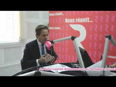 Pedro Lourtie, ambassadeur du Portugal en Tunisie sur RTCI