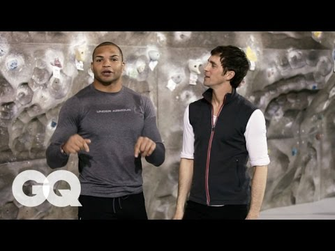 Jogging with James: Brendon Ayanbadejo - Baltimore Ravens - GQ Interview S1 EP1