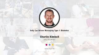 Indy Car Driver Managing Type 1 Diabetes