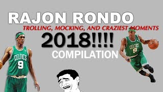 RAJON RONDO Funny, Trolling, Mocking, and Crazy Moments COMPILATION! | 2018
