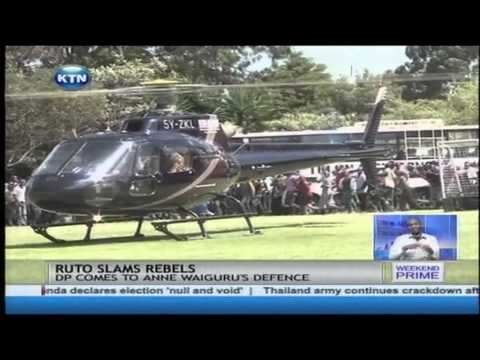 Deputy President William Ruto directly dress down rift valley leaders criticising Jubilee