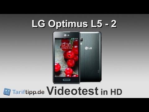 LG Optimus L5 - 2 | Test in deutsch (HD)