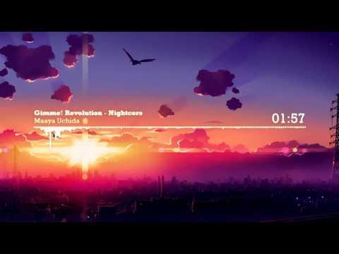 Nightcore - Maaya Uchida - Gimme! Revolution