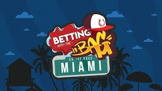 Evening MLB Predictions, Picks, Lines & Odds Update | Betting With The Bag LIVE From Miami
