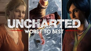 Ranking The Uncharted Series From Worst To Best