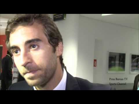 Mathieu Flamini reaction to Arsenal vs Manchester City Community Shield 2014