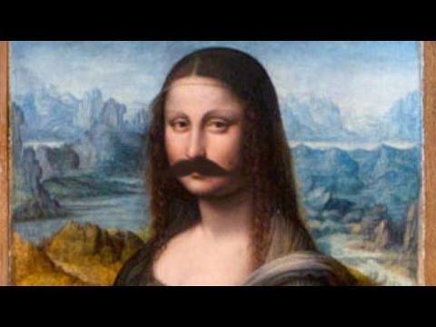 Mona Lisa Vandalized!