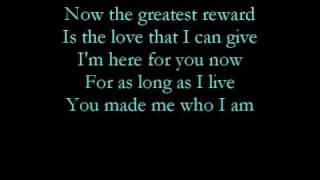 Watch Celine Dion The Greatest Reward video