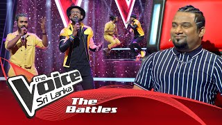 The Battles : Tharindu Nirmana V Kavindu Dilanka | Borukari  The Voice Sri Lanka
